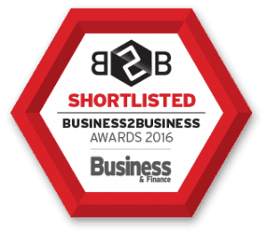 B2B Awards - Shortlist Badge