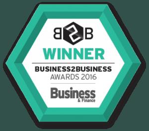 B2B Awards - Winner Badge