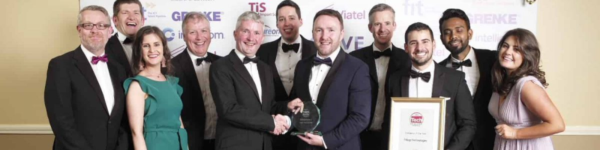 Company of the Year awarded to Trilogy at Tech Excellence awards 2019