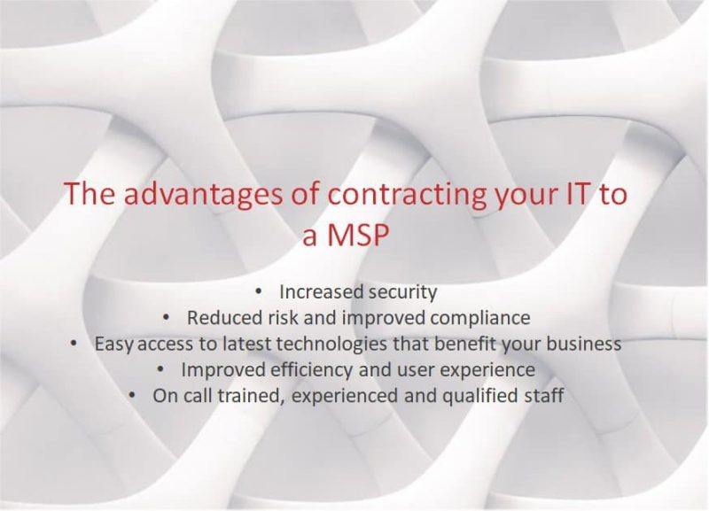 looking for a Managed Services Provider