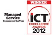 Managed Service Company of the Year - ICT Excellence Awards 2012