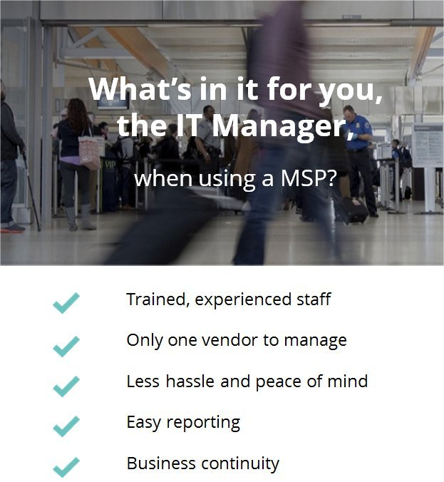Benefits for IT Managers