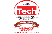 Managed Service Company of the Year - Tech Excellence Awards 2015